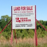 logan babin real estate sign