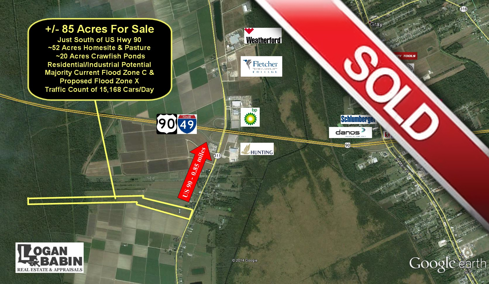 SOLD - Logan Babin Real Estate sells Hwy 311 Acreage - Logan